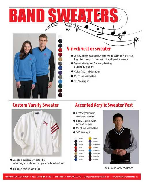 Band Sweaters